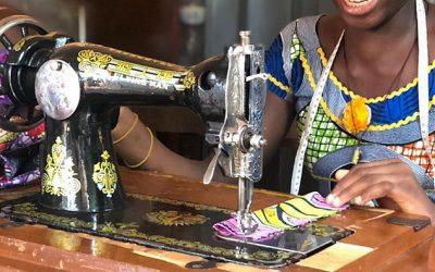 Financer l'éducation de jeunes filles au Bénin – Fondation Caritas