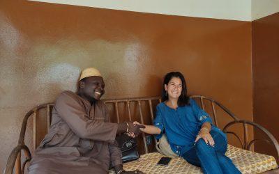 Visite à notre partenaire Robot 3 à Sékou